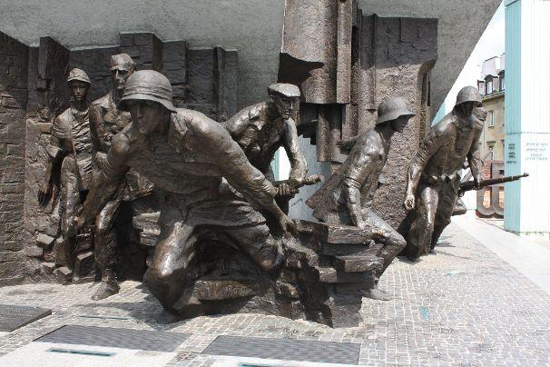 Monument voor de opstand van Warschau - Zeg Architectuur
